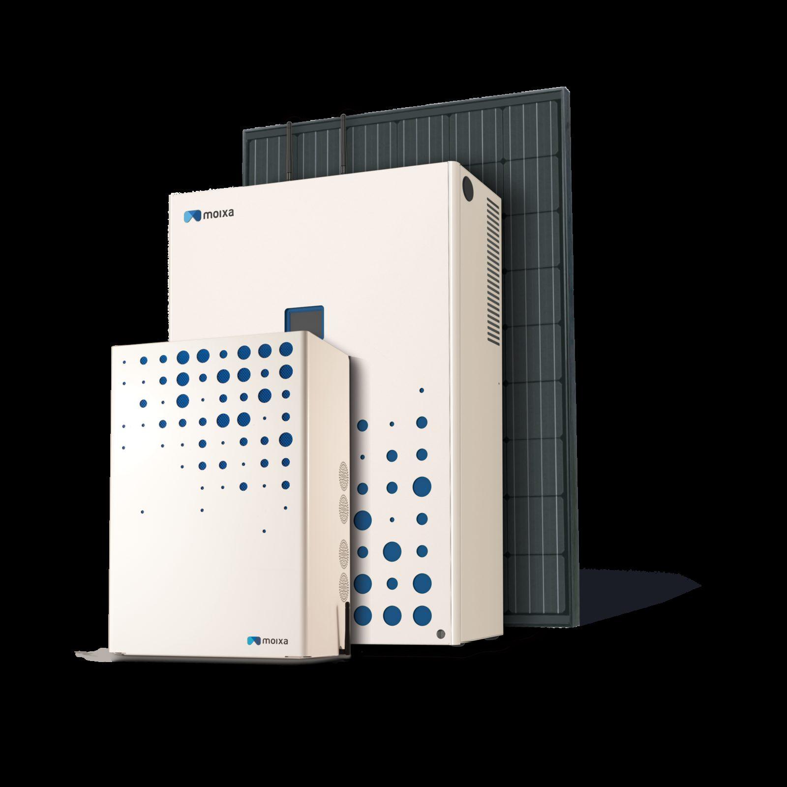 Moixa Smart Battery white right side Moixa | Home Energy Storage | Smart Energy Management