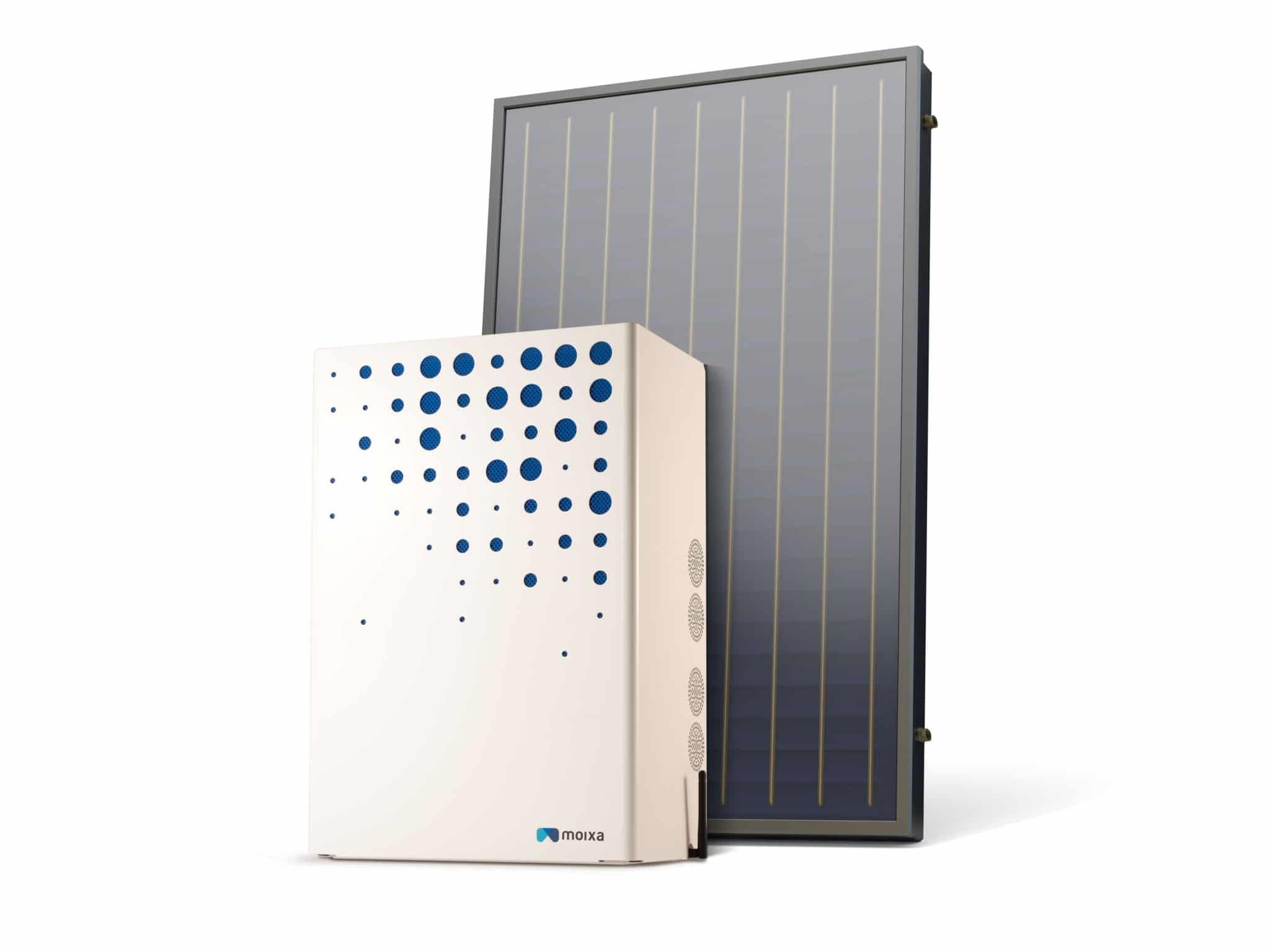 Solar panel and battery - Steve