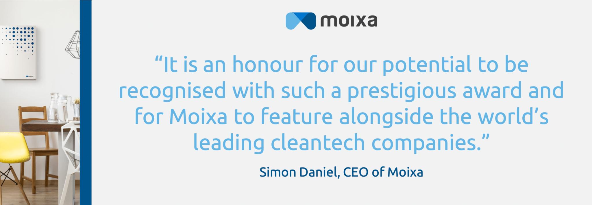 Simon Quote Moixa | Home Energy Storage | Smart Energy Management