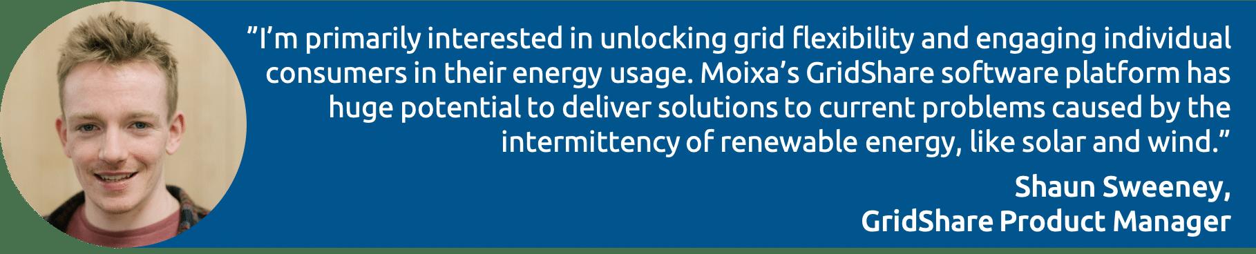 Shaun quote image Moixa   Home Energy Storage   Smart Energy Management
