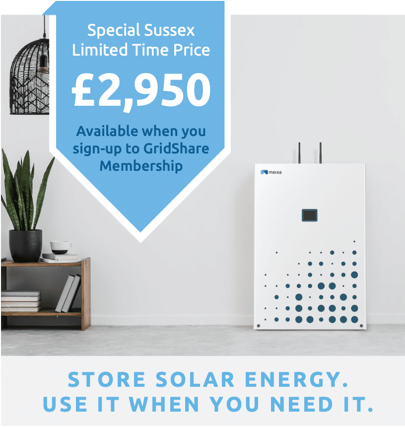 Sussex GridShare offer